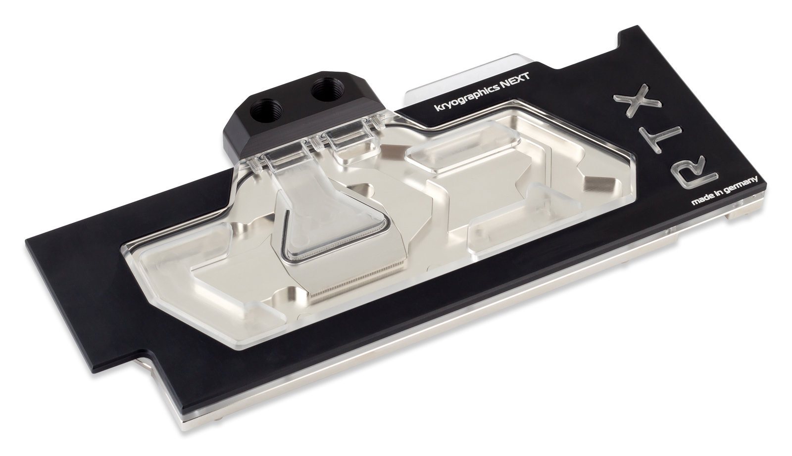 Aqua Computer Kryographics Next RTX 2080 Ti in der vernickelten Variante mit Plexiglasdeckel