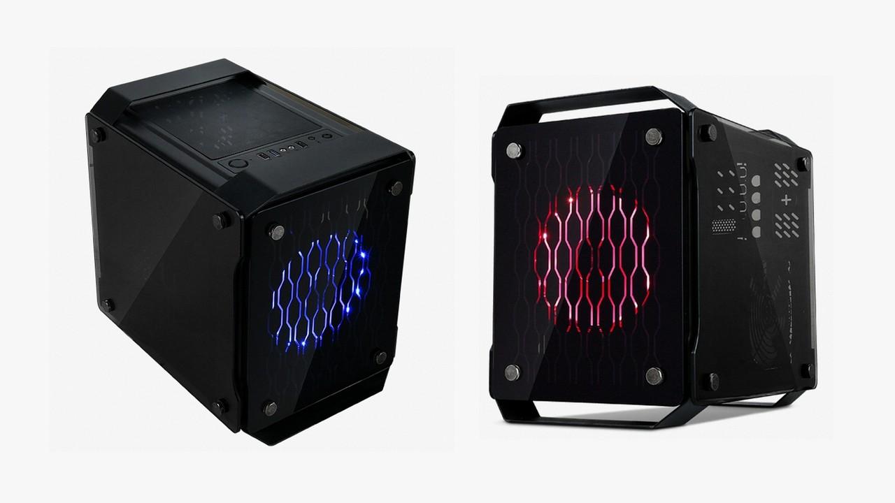 X2 Spartan: Kleiner Glaswürfel für Micro-ATX-Hardware
