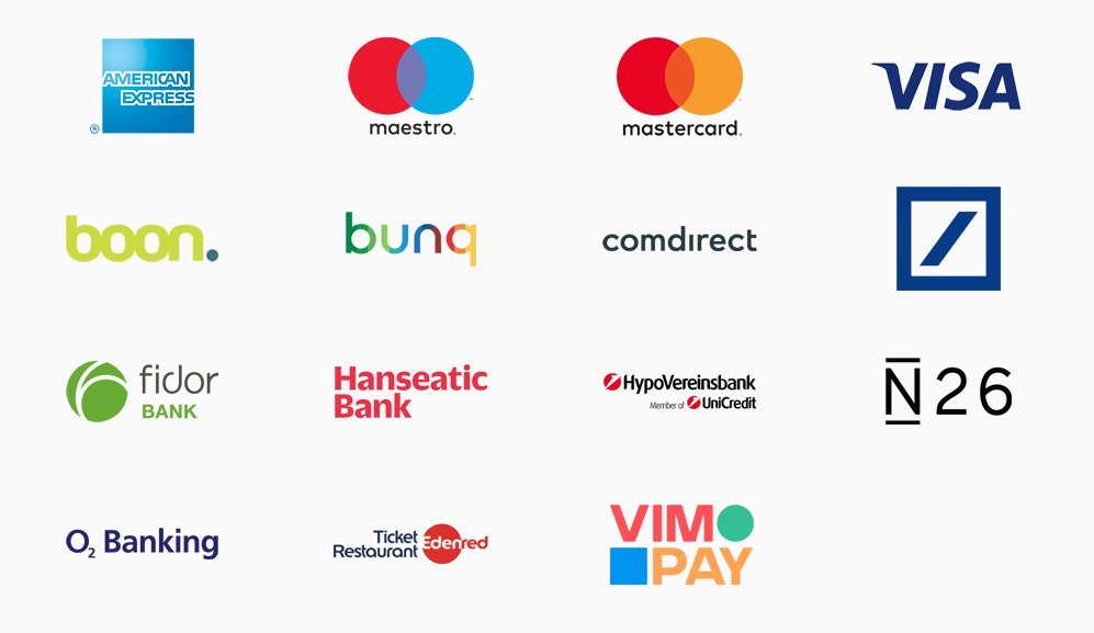 Die teilnehmenden Banken und Kreditinstitute zum Start