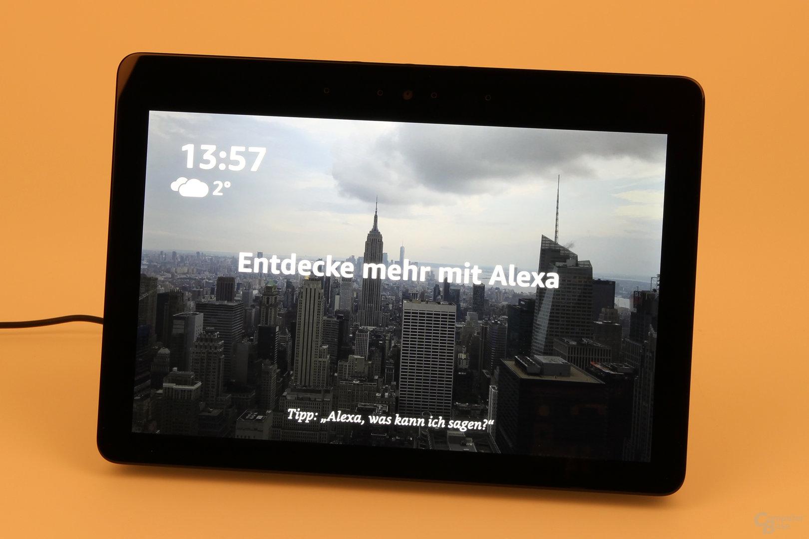 Amazon Echo Show: Startseite