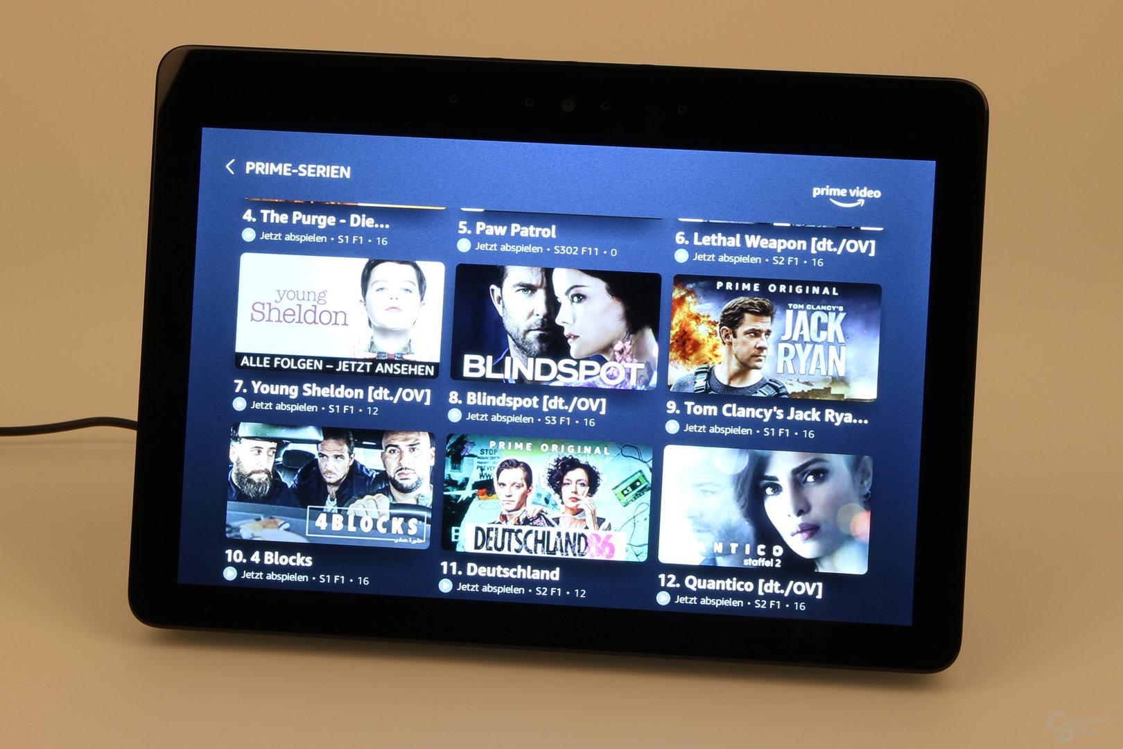 Amazon Echo Show: Prime Video