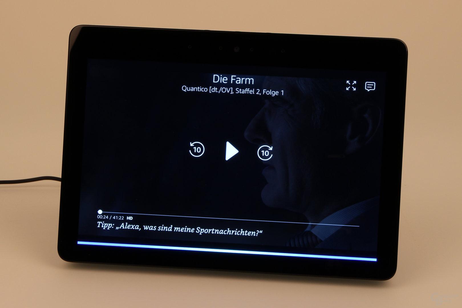 Amazon Echo Show: Wiedergabe über Prime Video