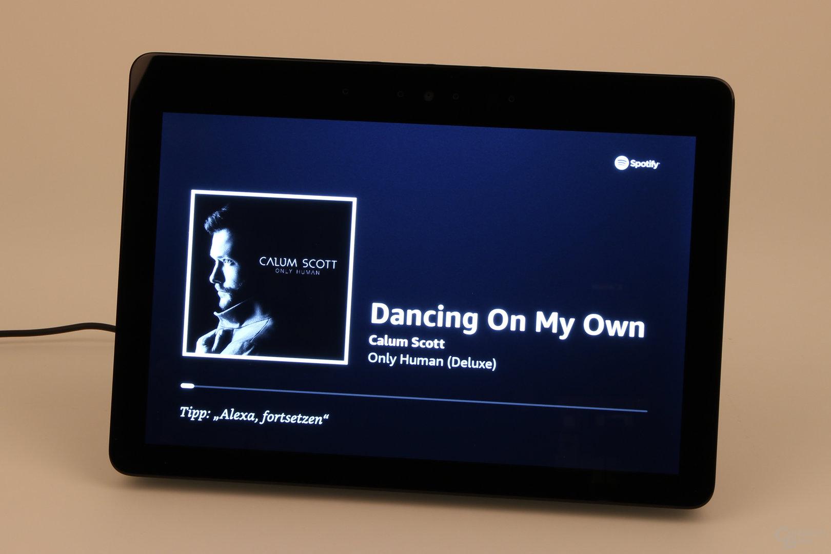 Amazon Echo Show: Spotify