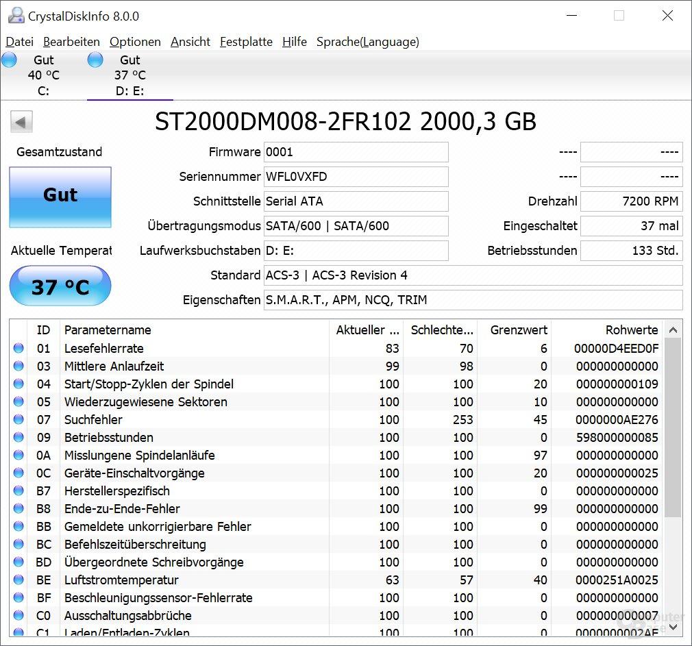HDD Info