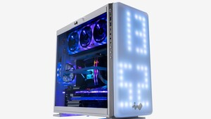 In Win 307: 144 große LEDs bilden ein großes Display