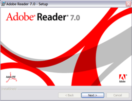Adobe Reader 7 Setup