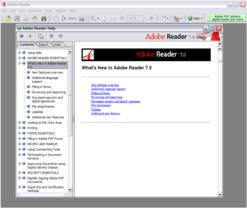 Adobe Reader 7 Hilfe