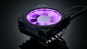 Phanteks PH-TC12LS RGB: Top-Blow-Kühler leuchtet dank Halos-Rahmen bunt