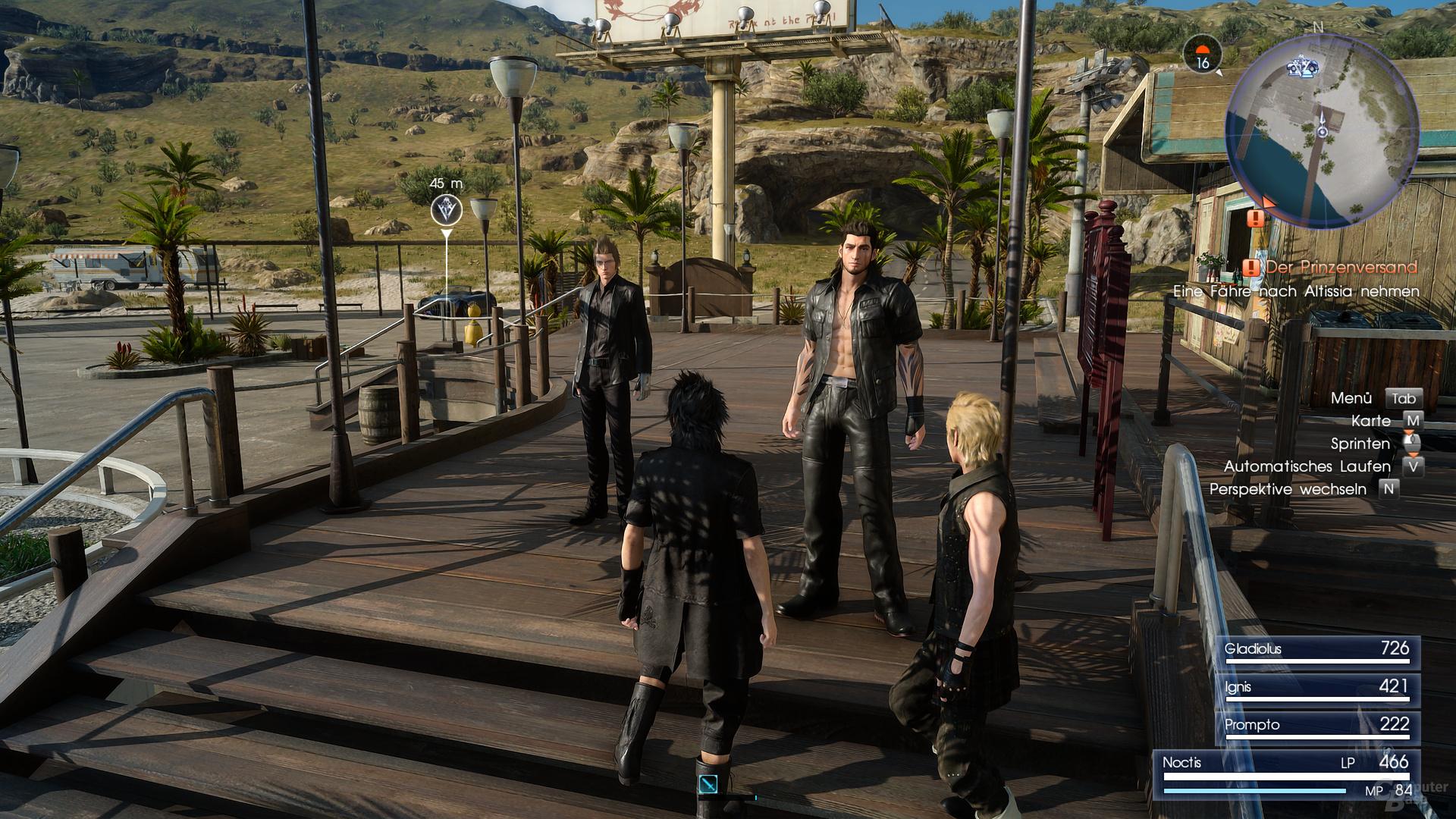 Final Fantasy XV – mit DLSS