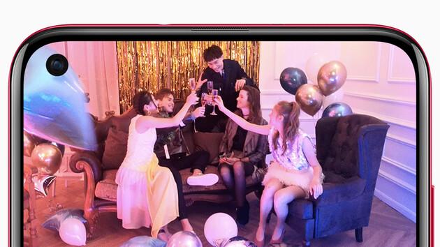 China: Huawei Nova 4 hat ein Kamera-Loch im Display