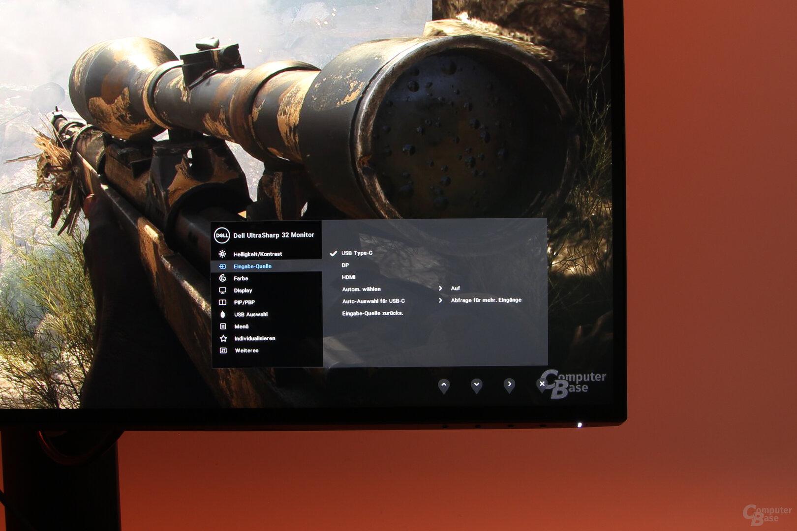 Dell UltraSharp U3219Q: OSD