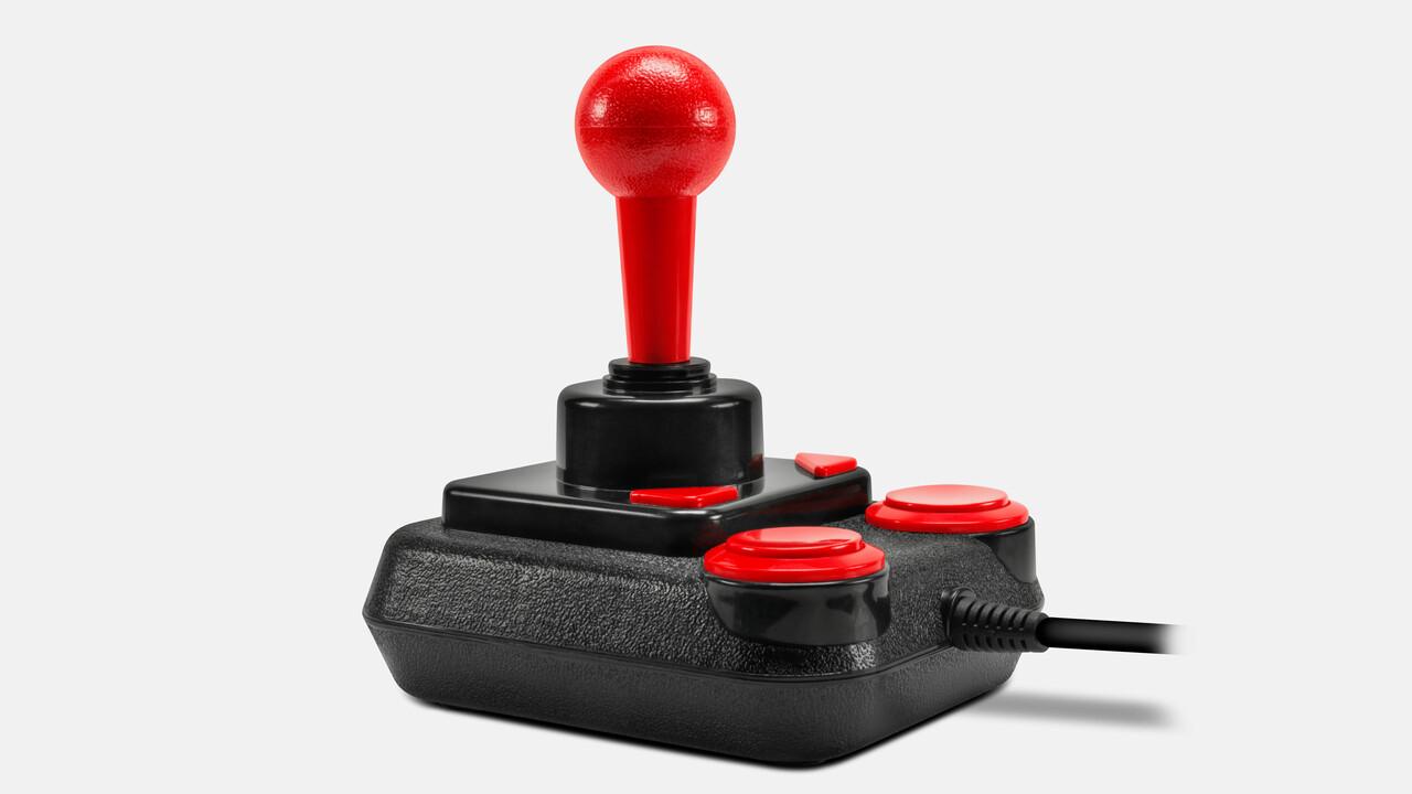 Mit 20 Retro-Spielen: Der Joystick-Klassiker Competition Pro kehrt zurück