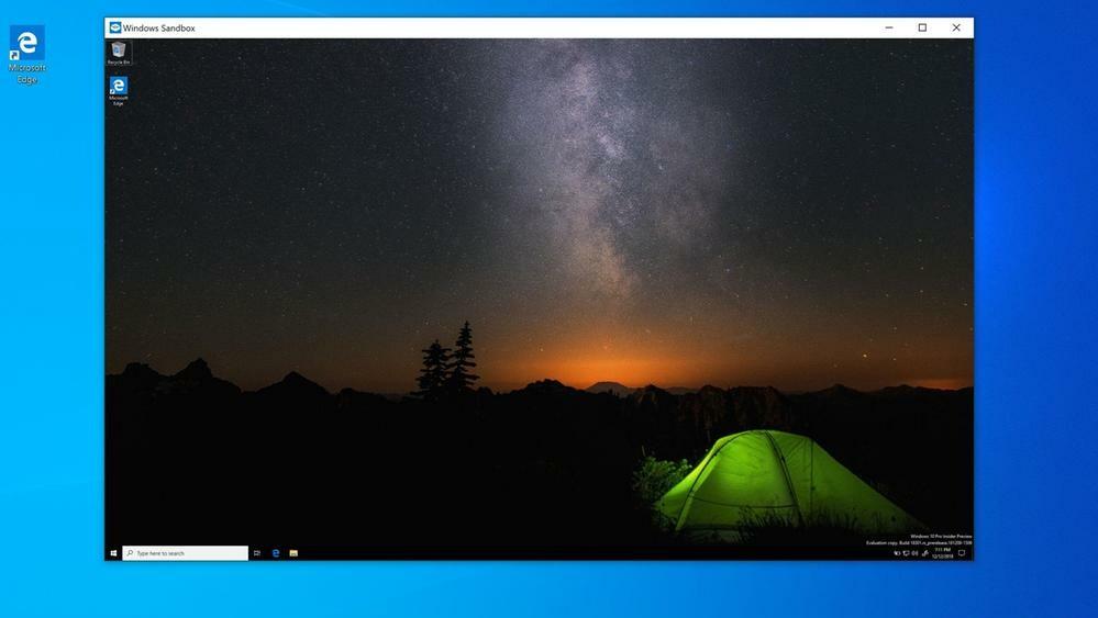 Microsoft: Windows 10 erhält im Jahr 2019 eine schnelle Sandbox