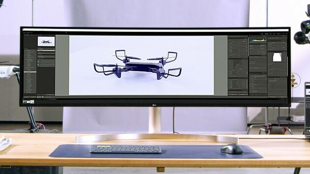 Monitore: LG setzt auf 5.120 × 1.440 Pixel oder QHD+ mit 144 Hz