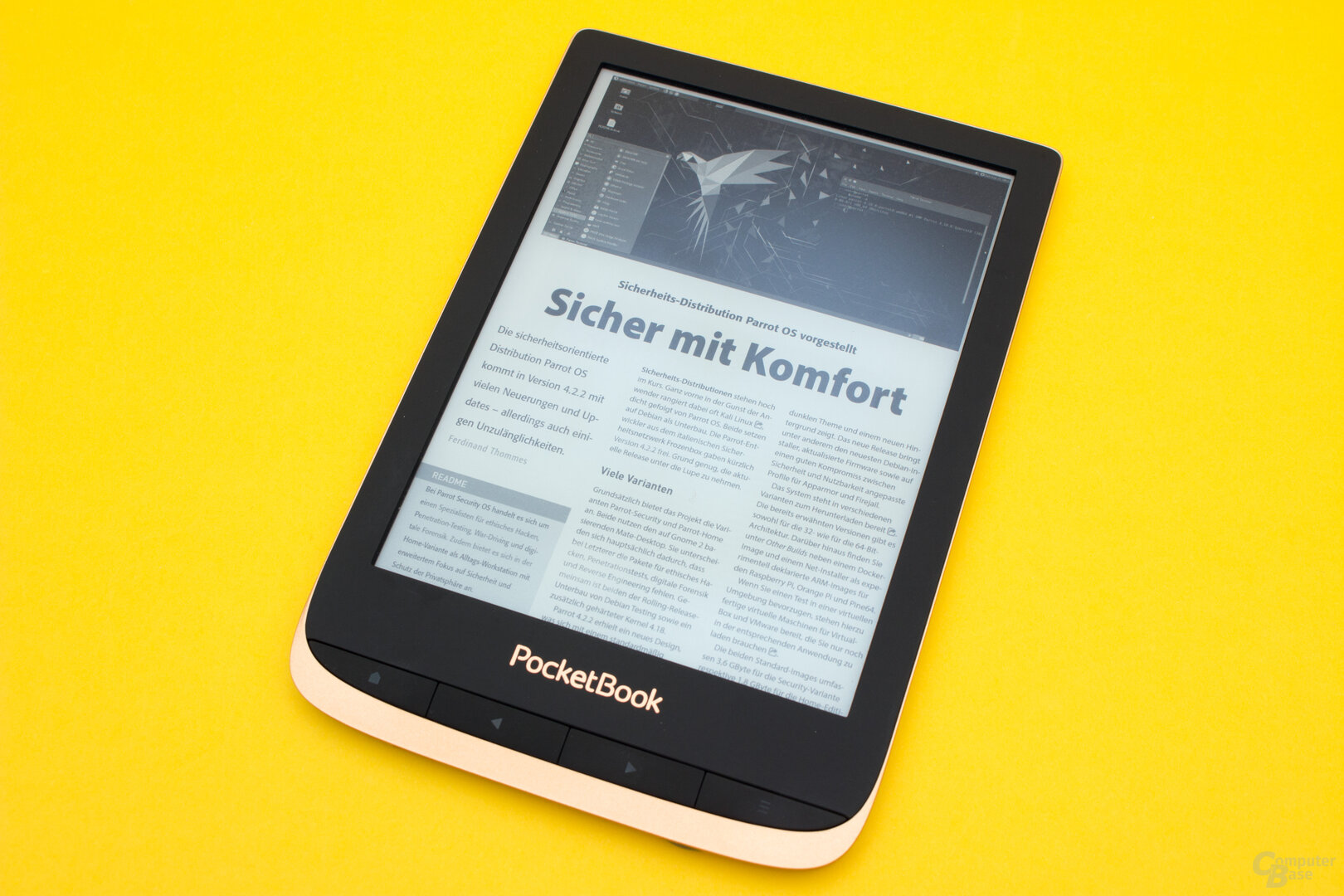 PDF-Dokumente auf dem PocketBook Touch HD 3