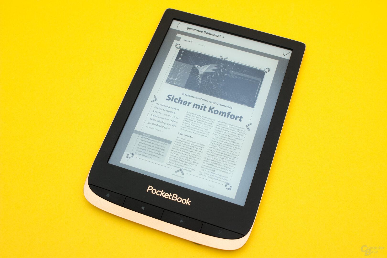 Auch der Touch HD 3 bringt wieder gute PDF-Werkzeuge mit