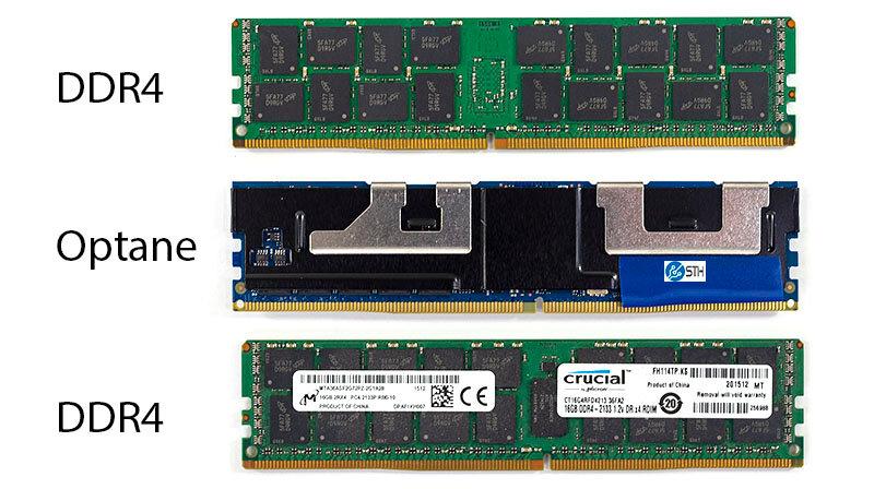 Intel Optane Persistent Memory im DIMM-Format