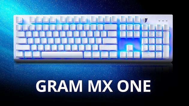 Tesoro Gram MX One: Cherry-MX-Switches im dezenten Chassis für 80 Dollar