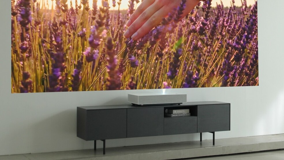 Laser-Projektor: LG legt Ultra-Short-Throw-Beamer als Soundbar neu auf