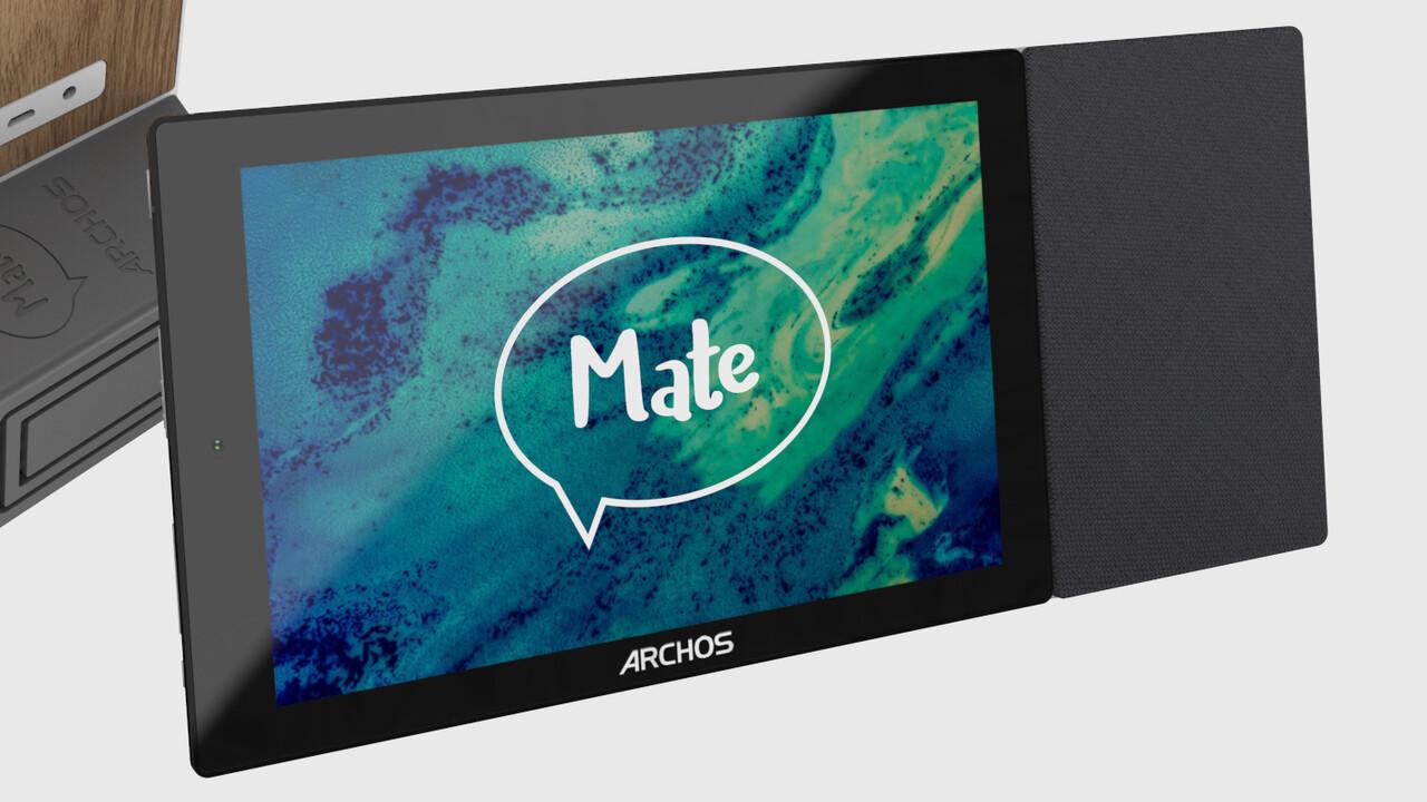Archos Mate: Smart-Display mit Amazon Alexa und Wireless Charging