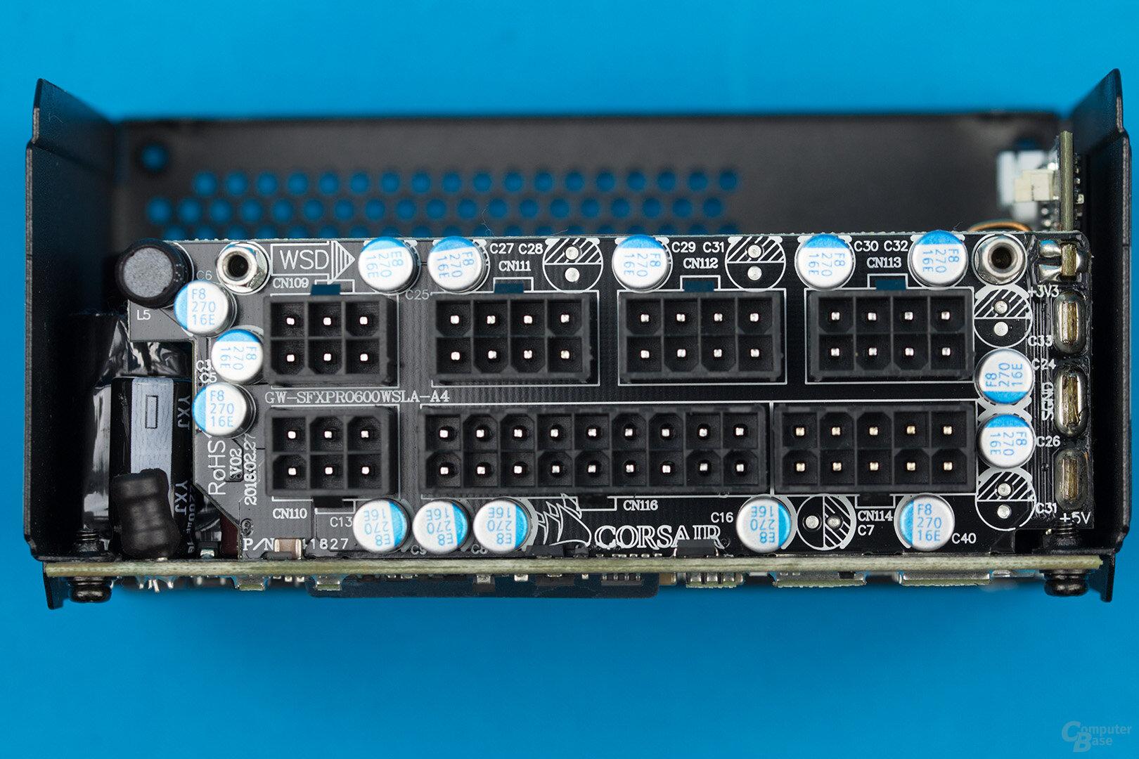 Corsair SF450 Platinum – Anschlussplatine