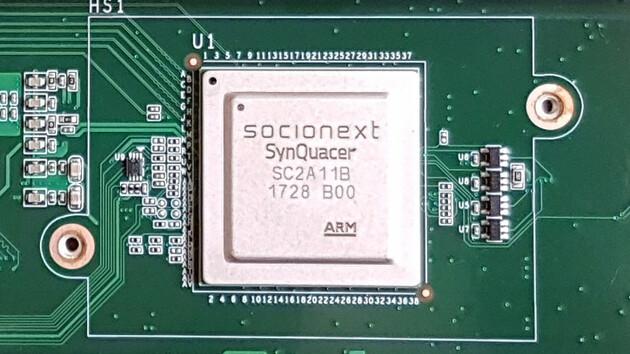 Server-CPU: Banana Pi zeigt 24-Kern-ARM-Server-Prozessor