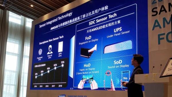 """Samsung-Smartphone: """"Sound on Display"""" statt Lautsprecher schon zur CES"""