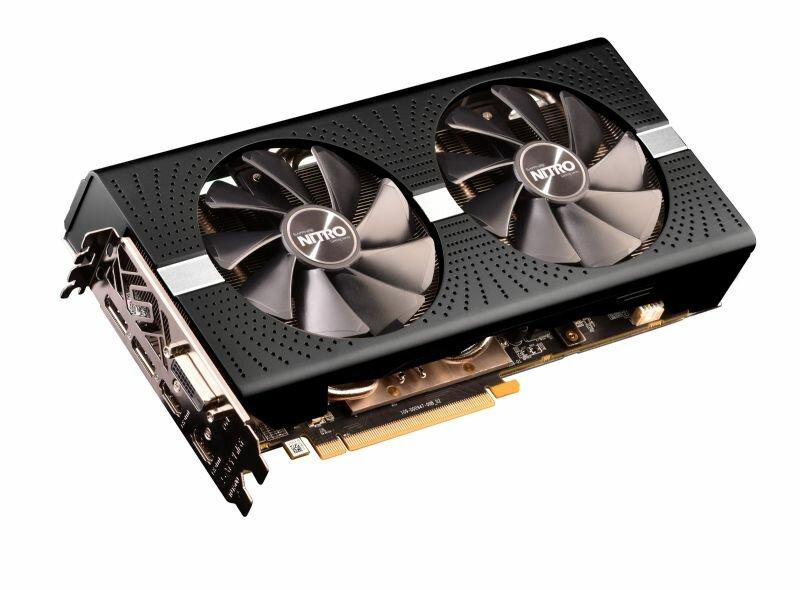Sapphire Radeon RX 590 Nitro+ in Schwarz
