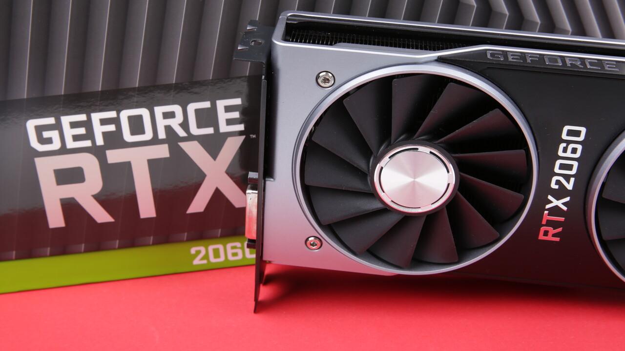 GeForce RTX 2060 im Test: Schnelle GPU trifft 6 GB statt 8 GB GDDR6 für 370 Euro