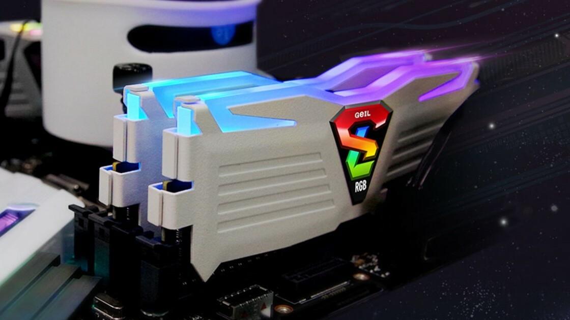 Super Luce RGB Sync: DDR4-RAM von GeIL bis 4.600 MHz bei 16-GB-Kits