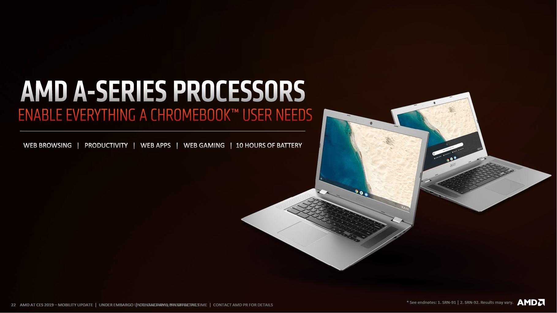 Chromebook mit AMD-APU