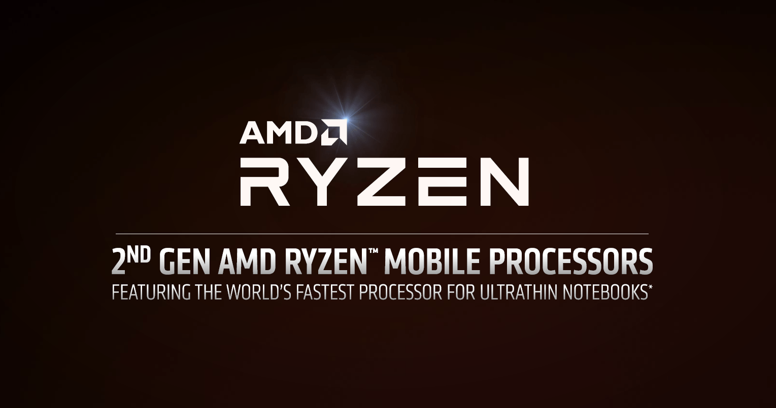 """AMD Ryzen 3000 als  """"2nd Gen Ryzen Mobile Processor"""""""