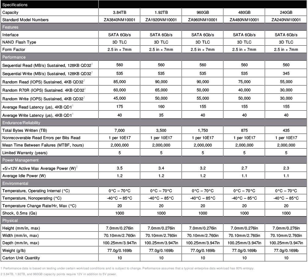 IronWolf 110 SSD Datenblatt