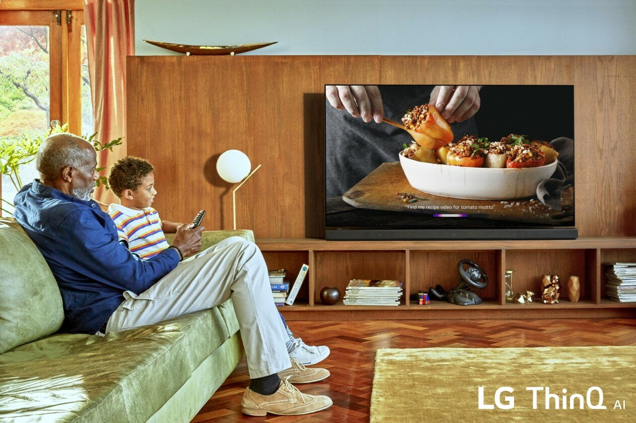 LG-Fernseher 2019 mit Google Assistant und Amazon Alexa