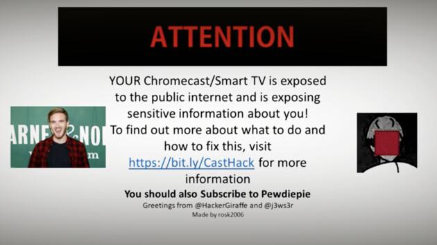 PewDiePie-Fans: Nach Druckern wird nun Chromecast für Aufruf gehackt