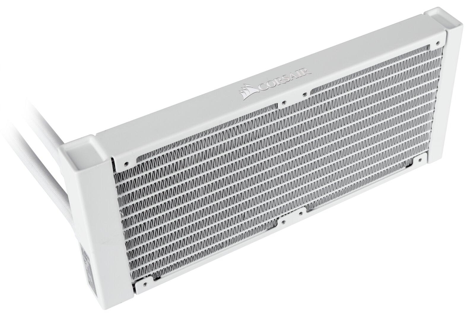 Corsair H100i RGB Platinum SE mit LL120 RGB White