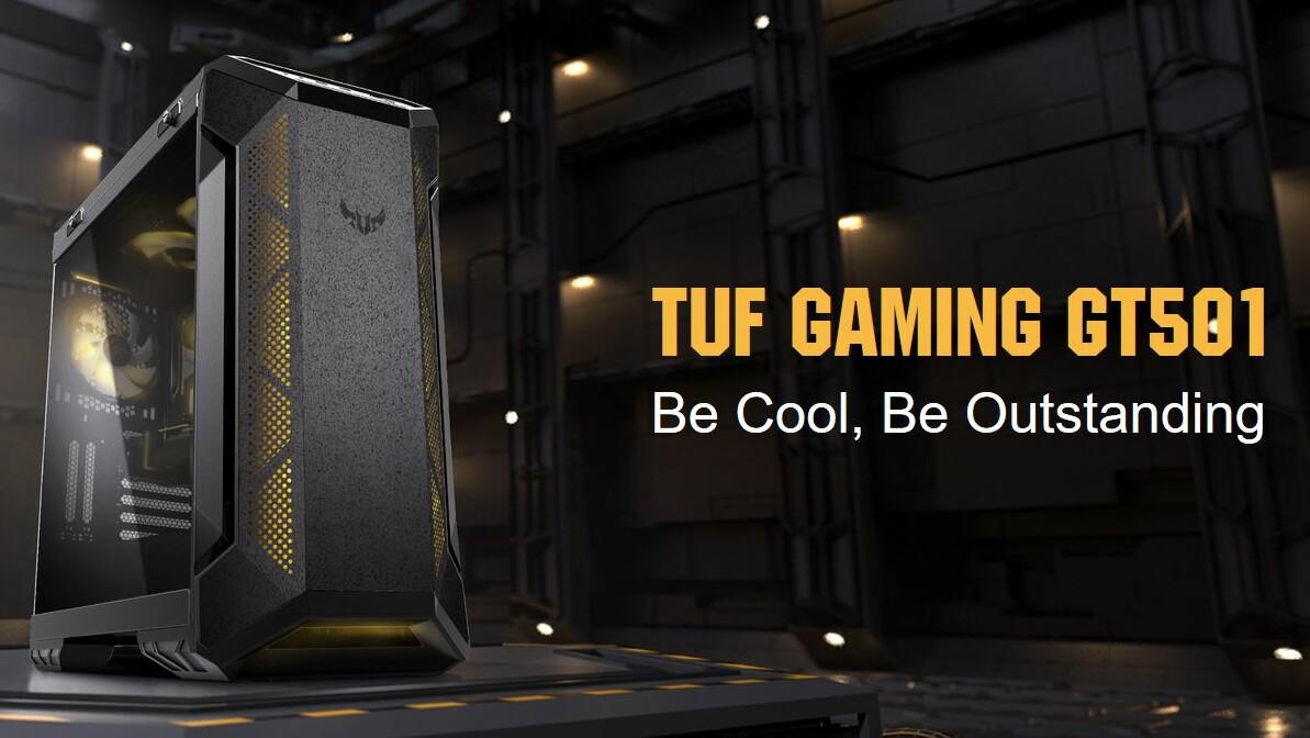 Asus TUF GT501: Erstes TUF-Gehäuse kleidet sich martialisch-militärisch