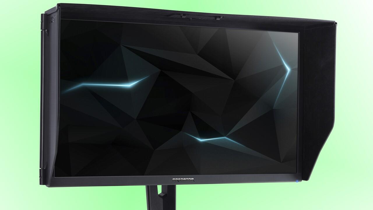 Acer Predator & Nitro: Günstigere UHD-Monitore mit 144 Hz jetzt verfügbar