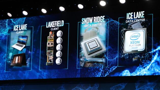 10-nm-Produkte: Intel zeigt CPUs, SoCs und gestapelte Chips zur CES 2019
