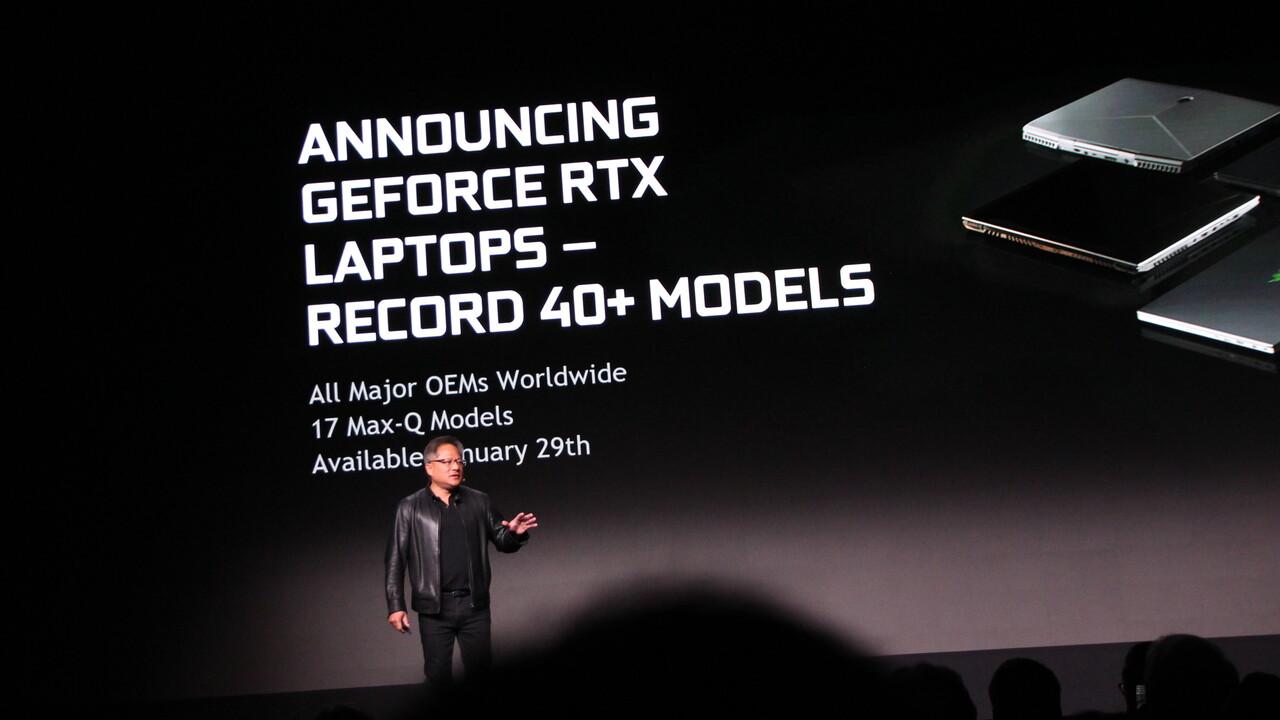 Notebook-GPUs: Nvidia GeForce RTX 2080, 2070 und 2060 mit und ohne Max-Q