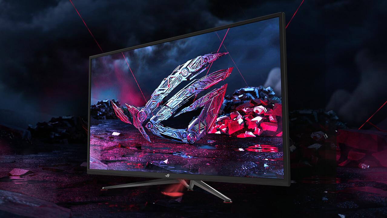 Asus Strix XG438Q: 43-Zoll-Monitor mit 120 Hz, UHD und DisplayHDR 600