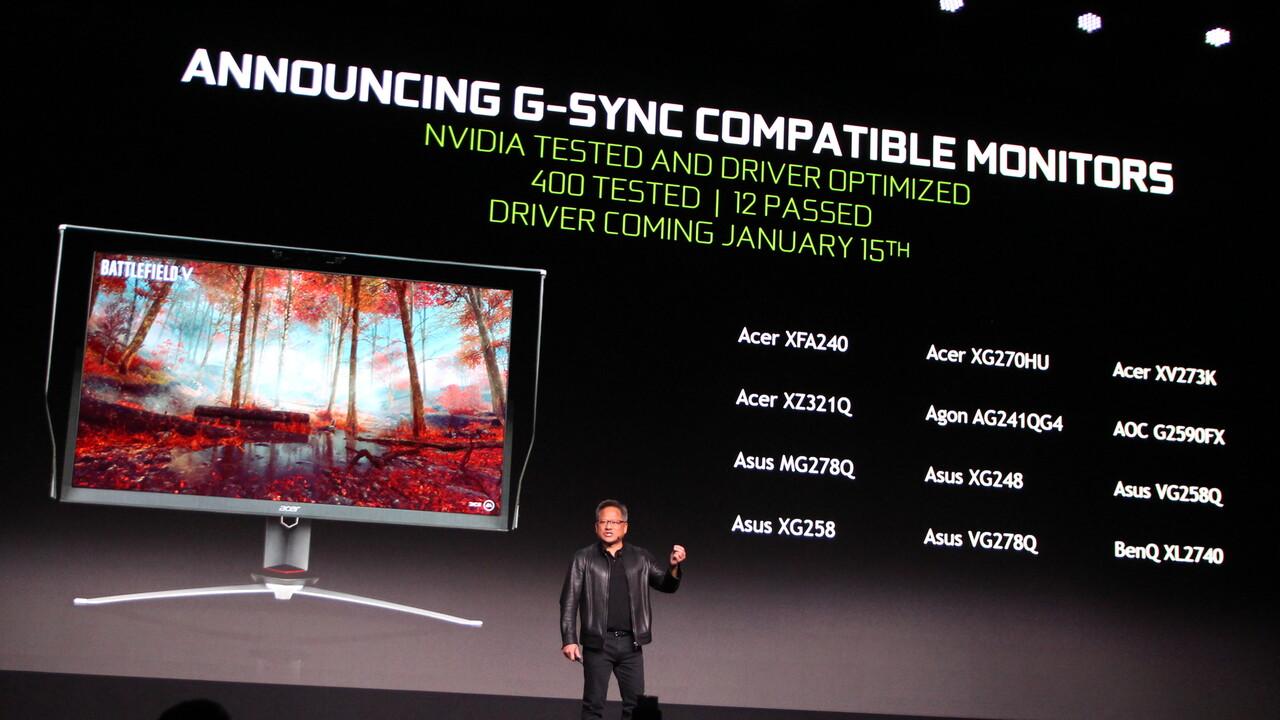 G-Sync: Nvidia unterstützt nun auch Monitore mit Adaptive-Sync