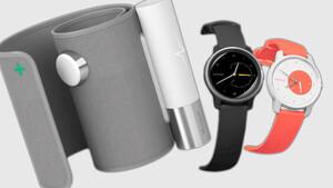 Withings: Smartwatch mit EKG und smarte Blutdruckmanschette