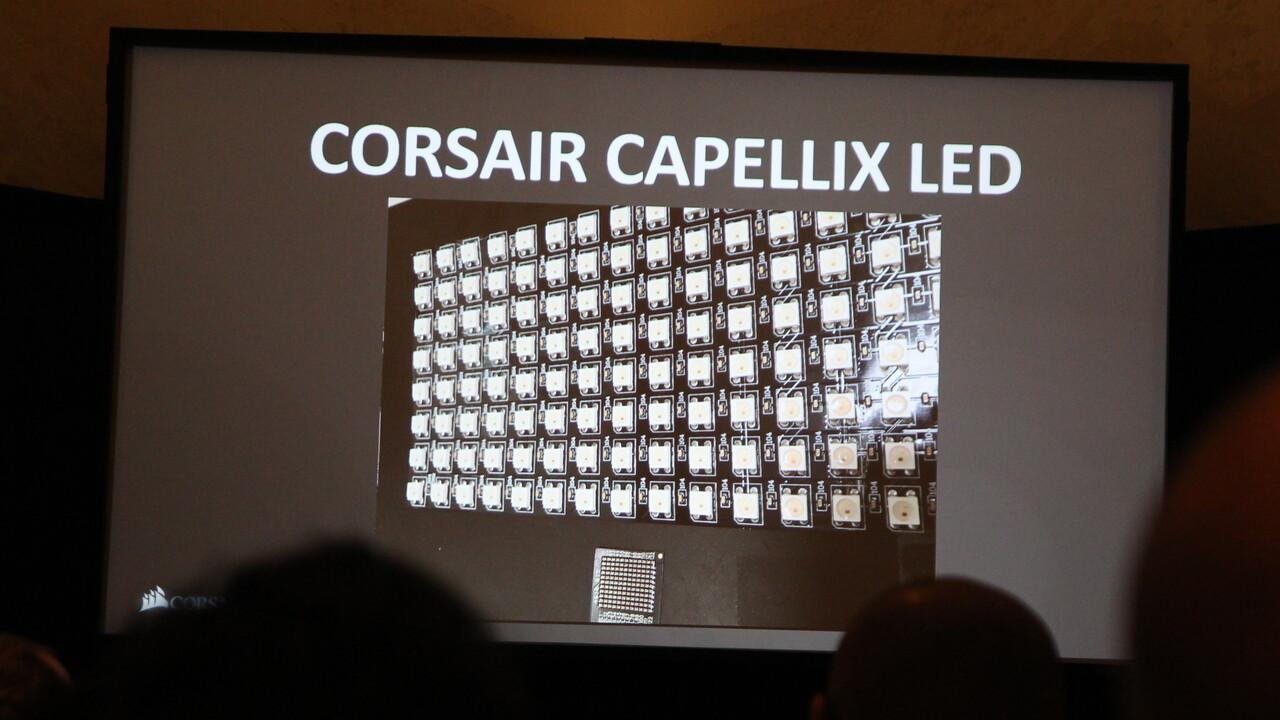 Corsair: Capellix-LEDs für 100 LEDs auf dem Raum von 4 SMD-LEDs