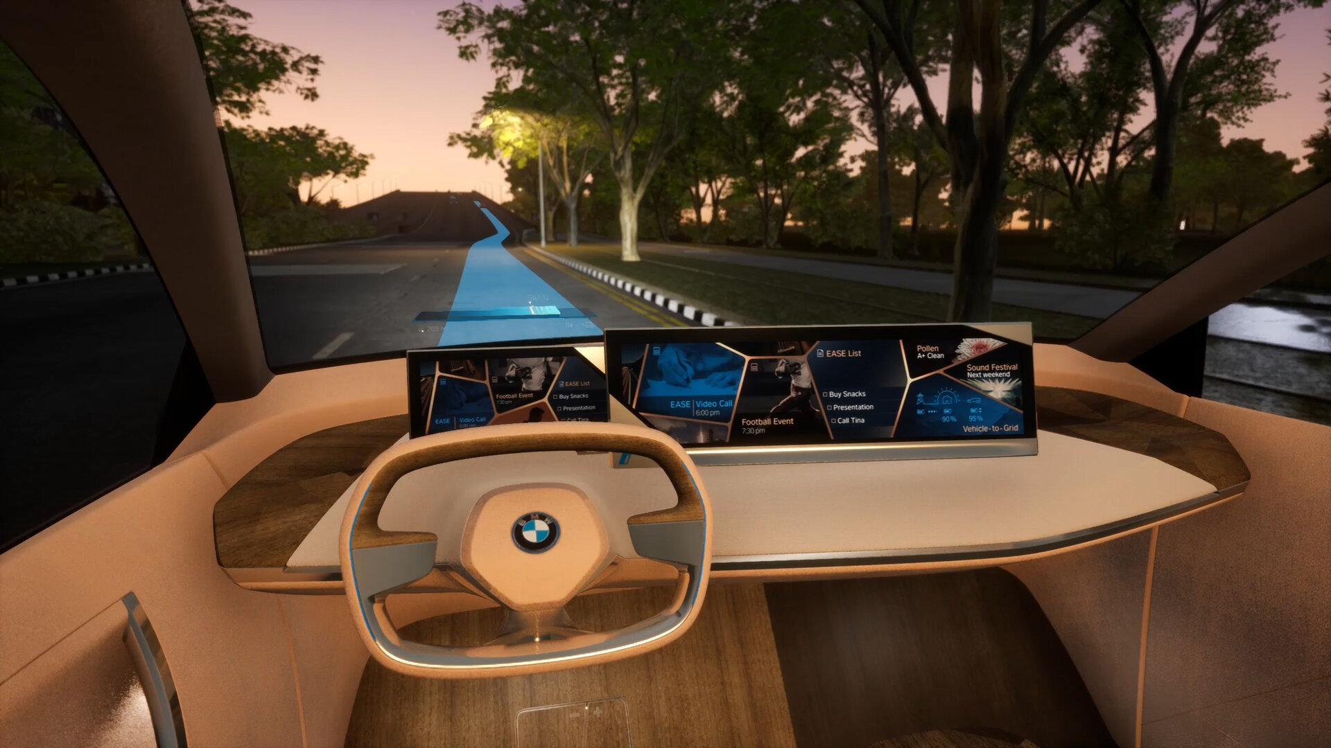 BMW Vision iNEXT im Ease-Modus
