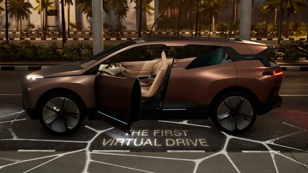 BMW: Eine virtuelle Probefahrt im Vision iNEXT