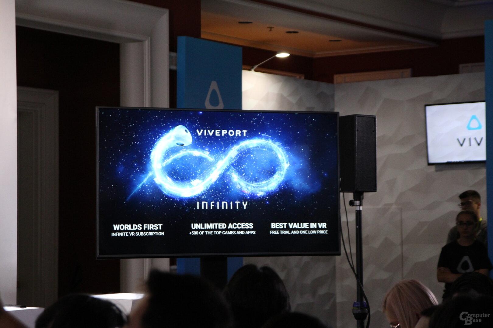 HTC Viveport Infintity