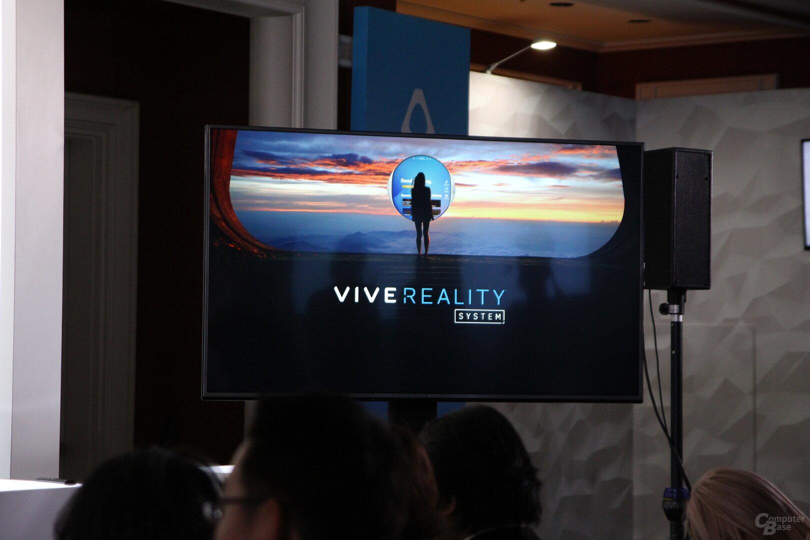 HTC Vive Reality System