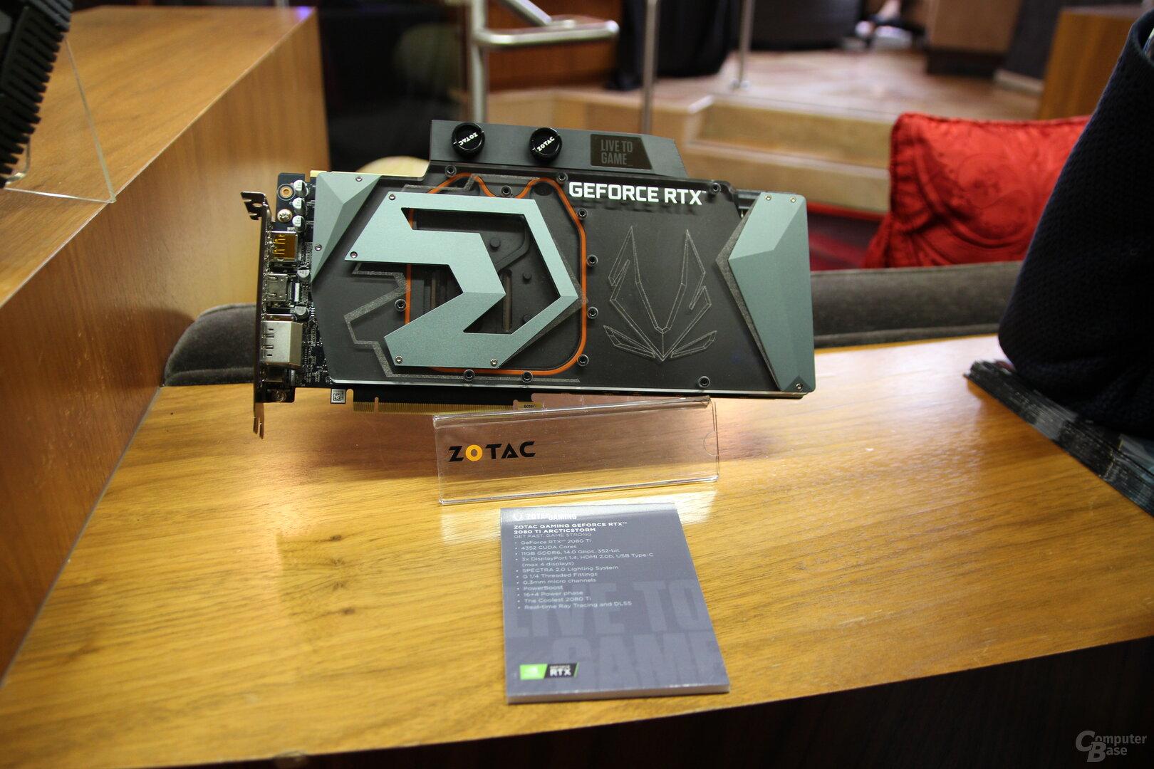 Zotac GeForce RTX 2080 Ti Arctic Storm