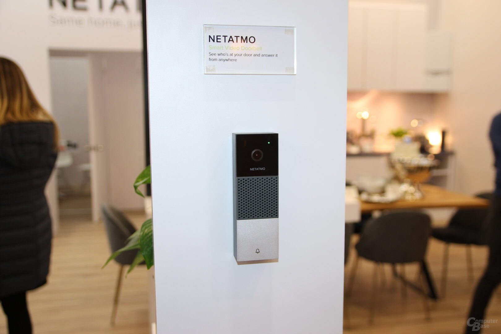 Netatmo intelligente Video-Türklingel